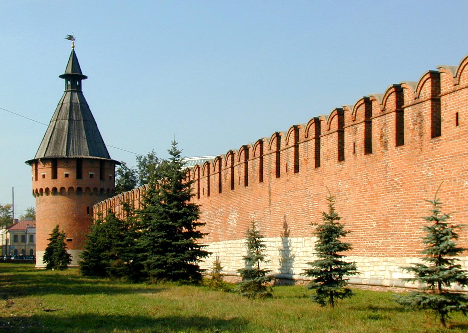 Кремль в туле картинка
