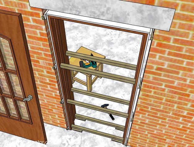 Установка петель на межкомнатные двери своими руками
