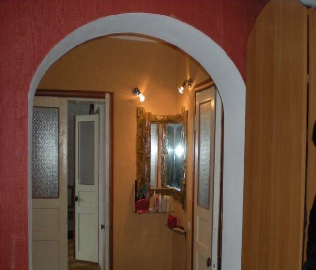 Как сделать узкую арку дверную