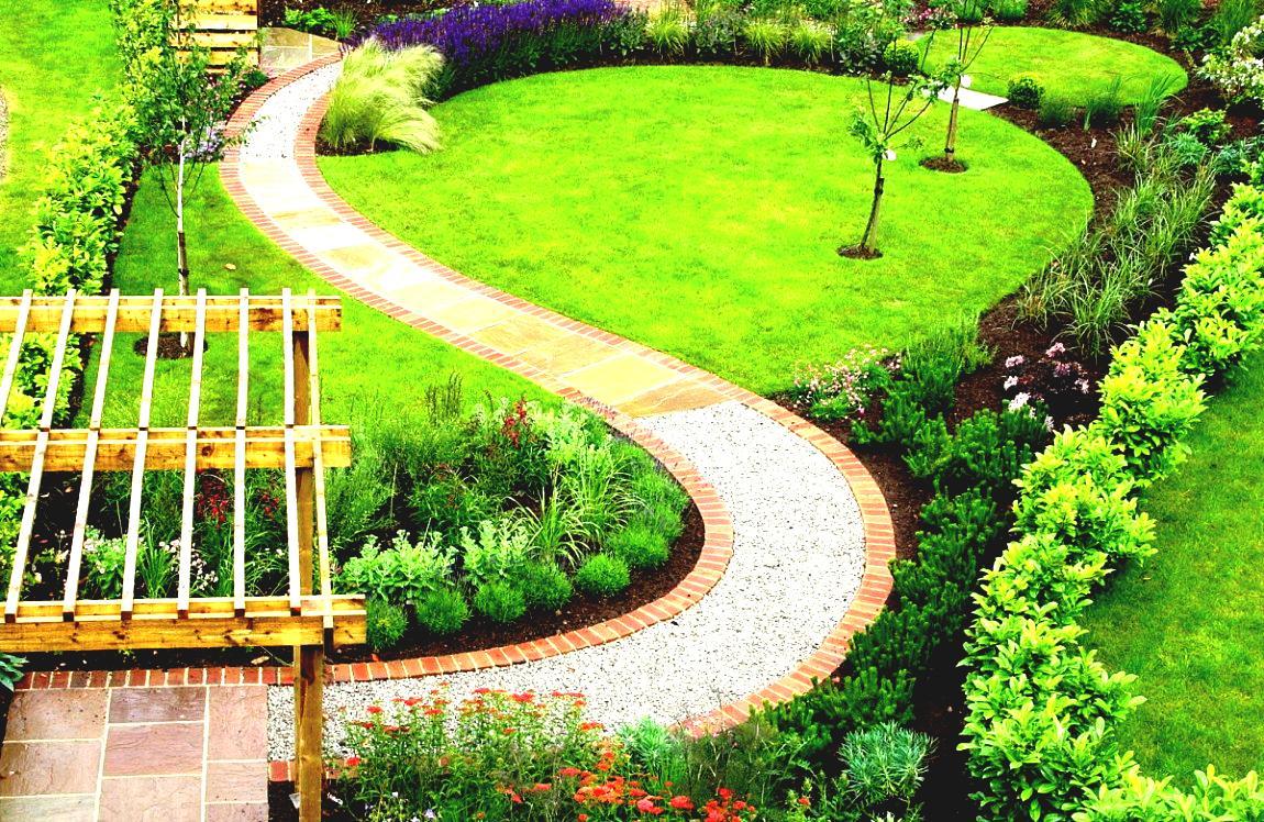 Ландшафтный дизайн садовые дорожки фото