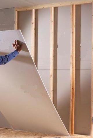 Гипсокартон на деревянные стены своими руками
