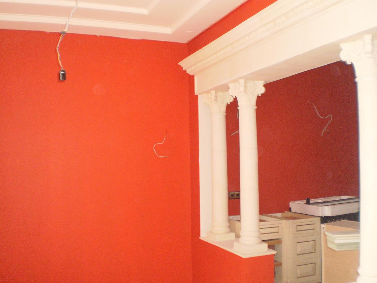Стены в квартире фото