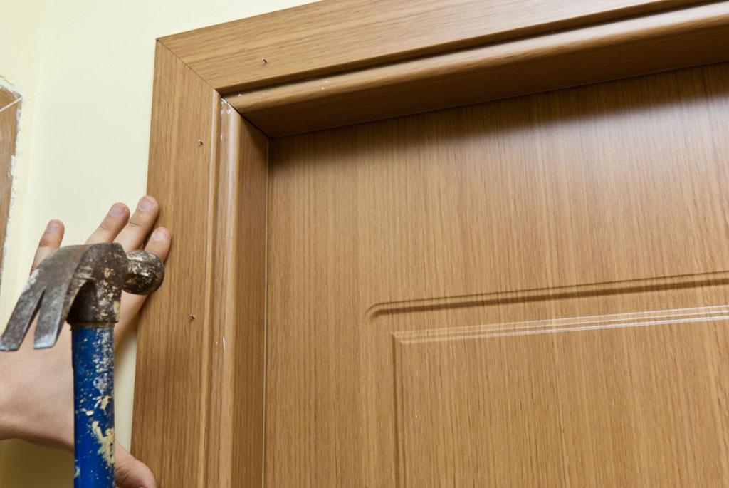 Наличники на межкомнатные двери своими руками