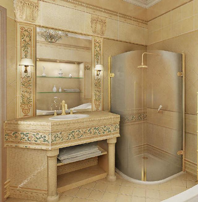 Ремонт туалетрой комнаты 48 ФОТО! Дизайн туалетрой комнаты 53