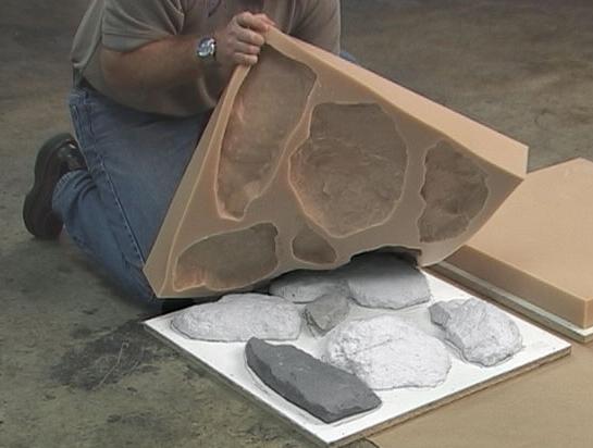 Из чего сделать форму для камня своими