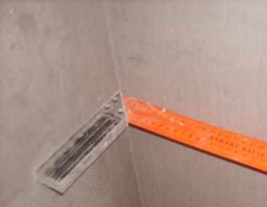 Как правильно сделать угол на стене 163